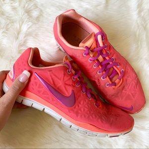 Nike Free 5.0 Women's Pink Running Shoes